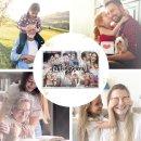Foto-Puzzle / 24 Teile / Lieblingsmensch / inkl. Verpackung Kraftpapier Umschlag mit Gold-Inlay / mit SECHS Bildern bedrucken lassen